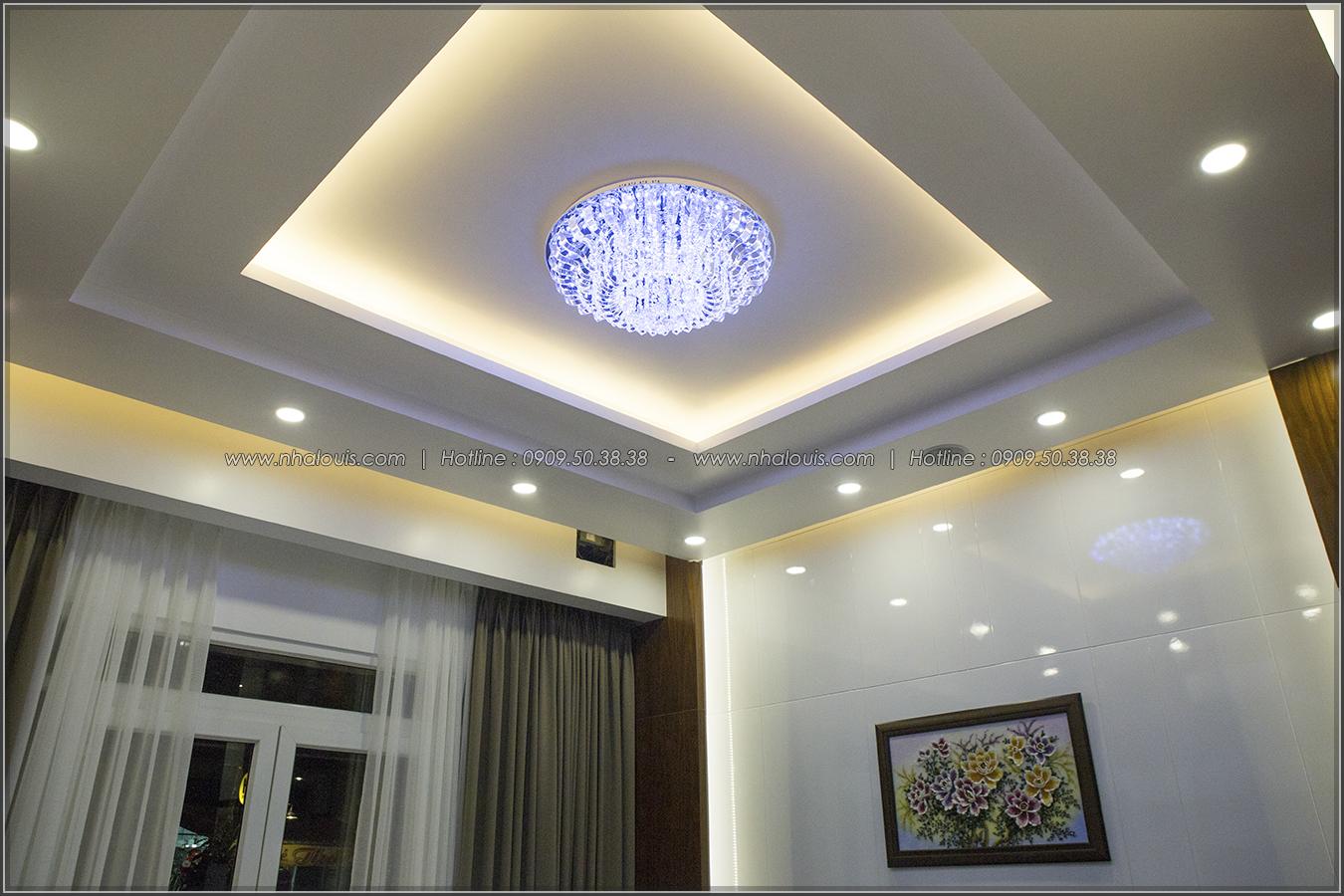 Thi công xây dựng biệt thự mặt tiền tân cổ điển cao 4 tầng tại Tân Phú - 09