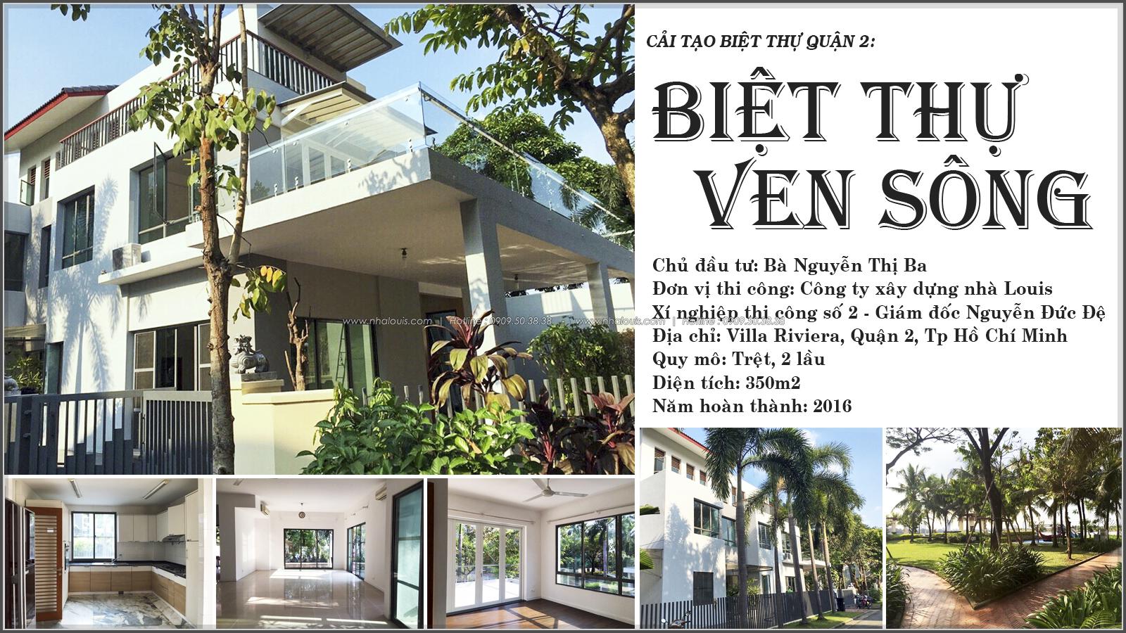 Thi công cải tạo biệt thự cao cấp Villa Riviera tại quận 2 - 01