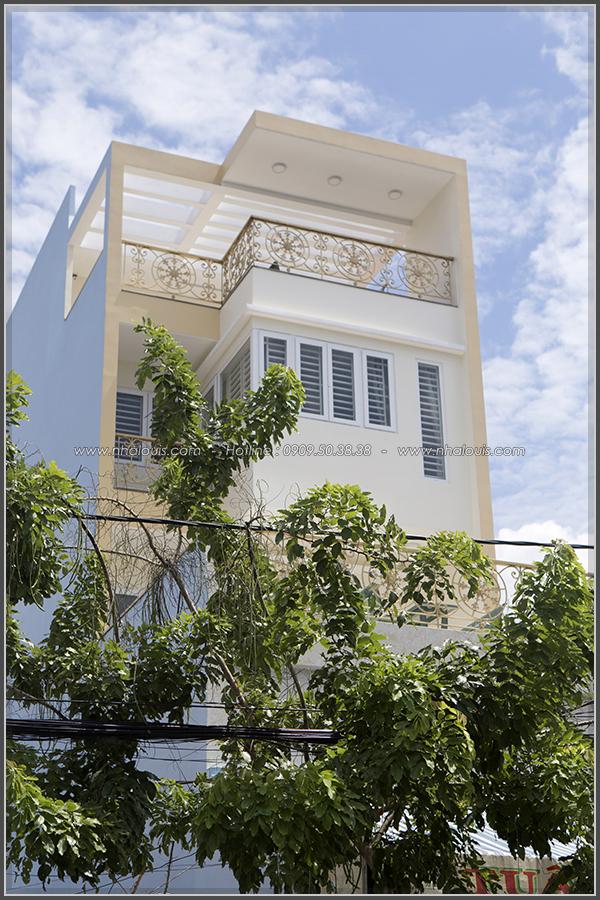Thi công nhà đẹp 3 tầng mặt tiền 5m kết hợp kinh doanh tại quận 8 - 03