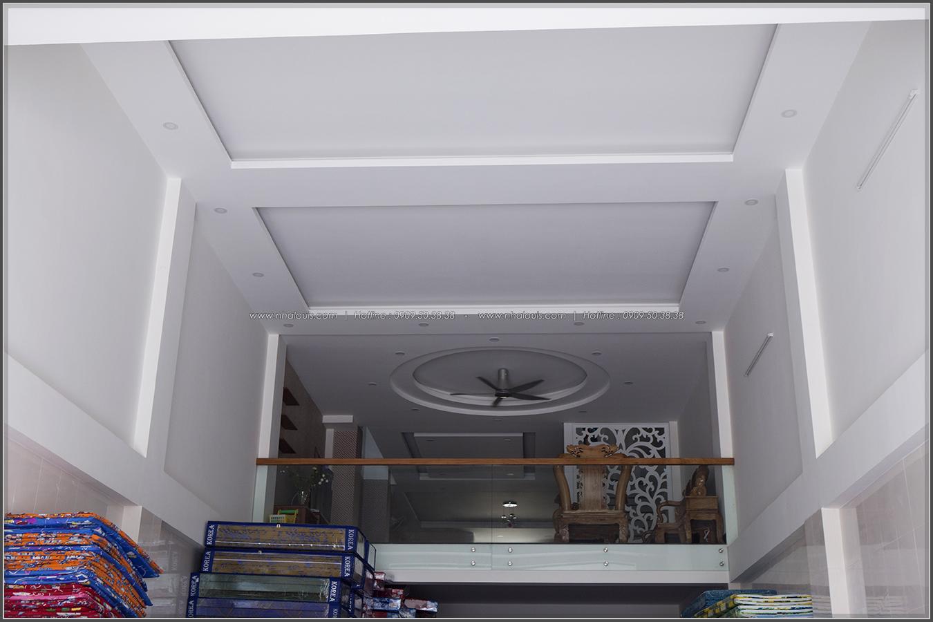Thi công nhà đẹp 3 tầng mặt tiền 5m kết hợp kinh doanh tại quận 8 - 06
