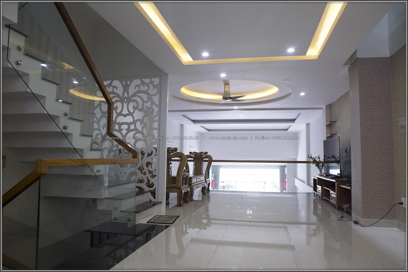 Thi công nhà đẹp 3 tầng mặt tiền 5m kết hợp kinh doanh tại quận 8 - 07