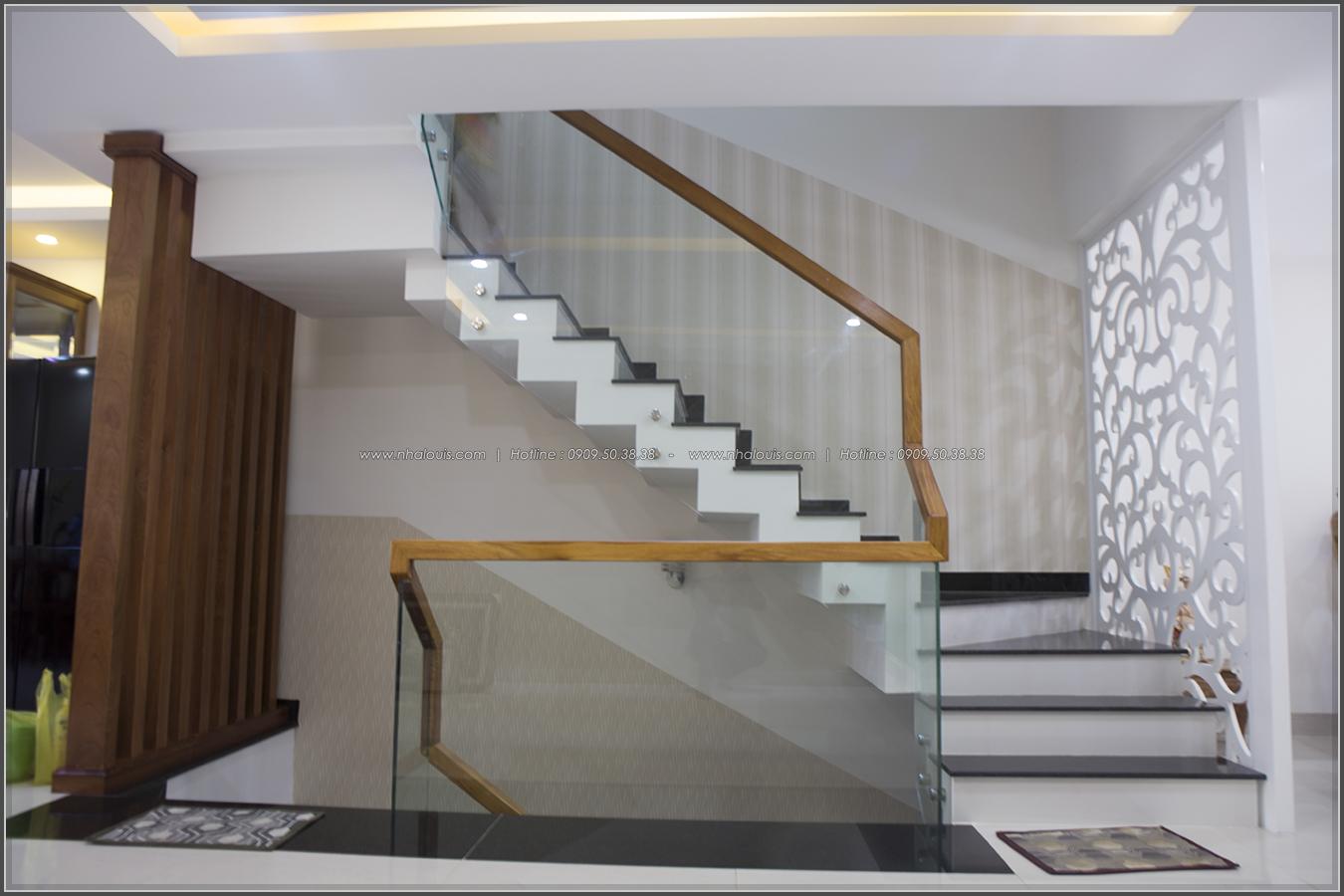 Thi công nhà đẹp 3 tầng mặt tiền 5m kết hợp kinh doanh tại quận 8 - 13