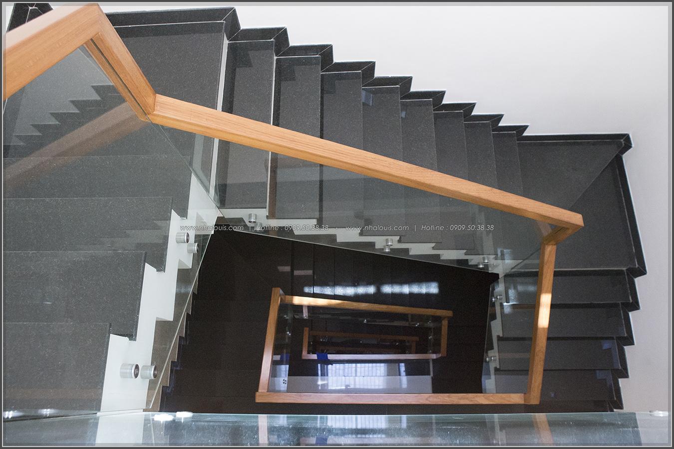 Thi công nhà đẹp 3 tầng mặt tiền 5m kết hợp kinh doanh tại quận 8 - 37
