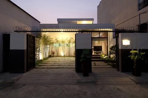 Thiết kế ấn tượng của mẫu ngôi nhà trệt diện tích rộng - 01