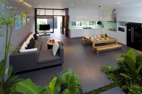 Thiết kế ấn tượng của mẫu ngôi nhà trệt diện tích rộng - 02
