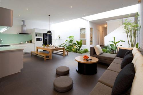 Thiết kế ấn tượng của mẫu ngôi nhà trệt diện tích rộng - 03