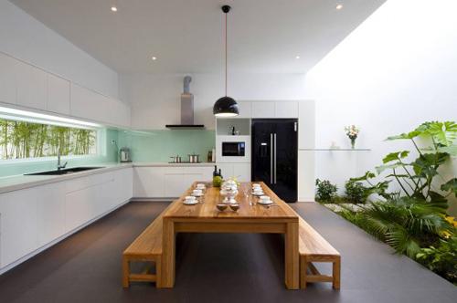 Thiết kế ấn tượng của mẫu ngôi nhà trệt diện tích rộng - 04