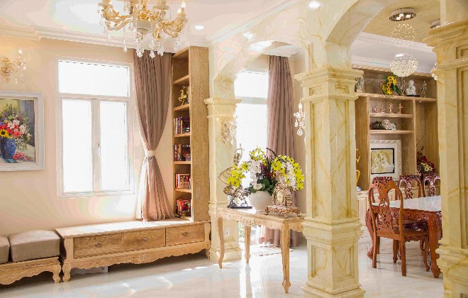 Thiết kế biệt thự cổ điển đẹp hút hồn