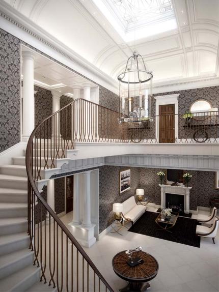 Thiết kế biệt thự cổ điển mang nhiều giá trị thư giãn, giải trí