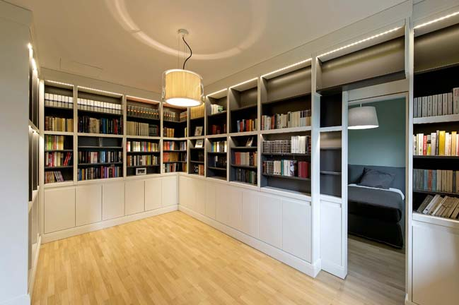 Thiết kế biệt thự đương đại với tông màu trắng đen