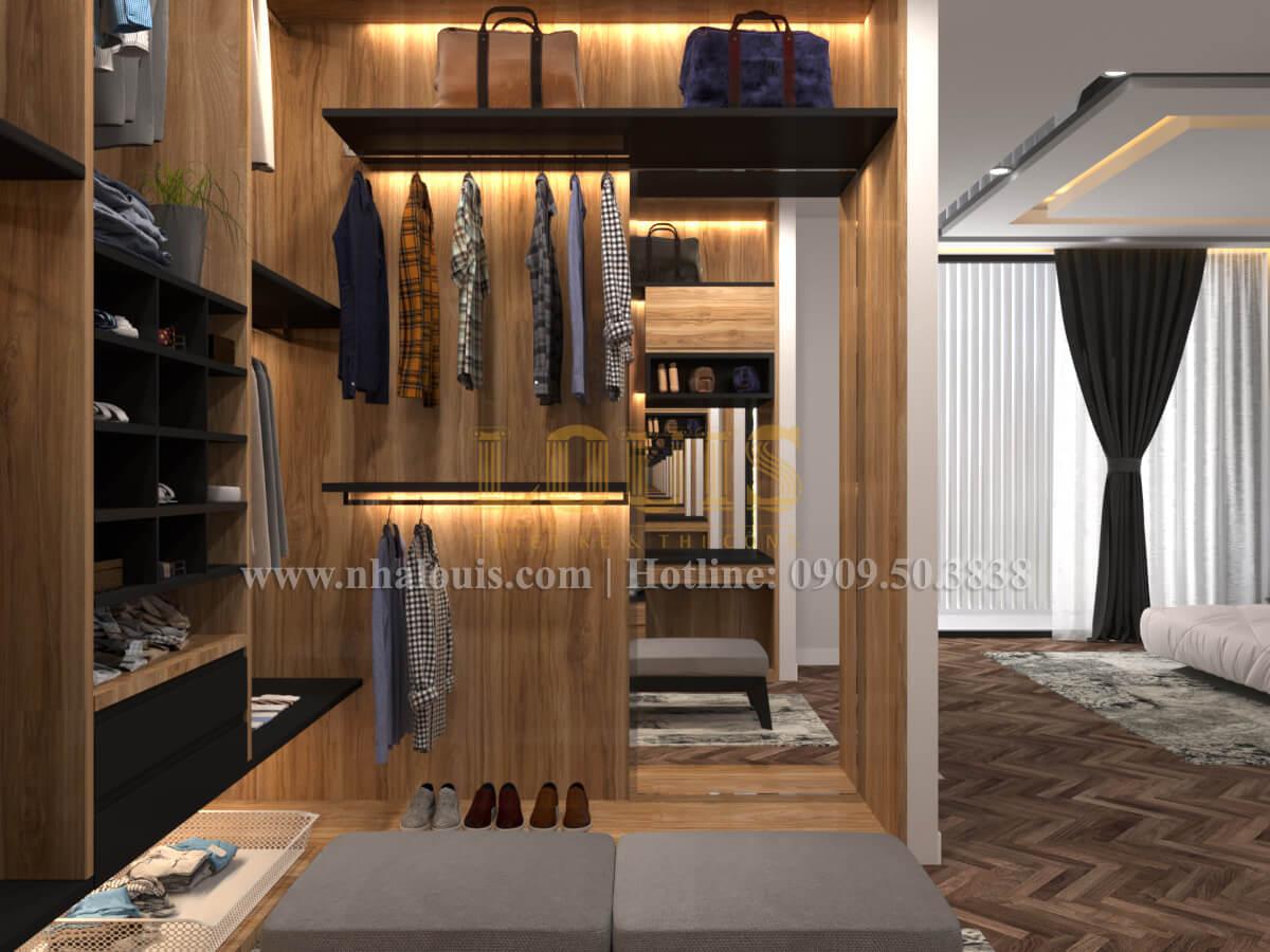 Phòng thay đồ Thiết kế biệt thự hiện đại 2 tầng đẹp phong cách mới 2017 tại Cần Thơ