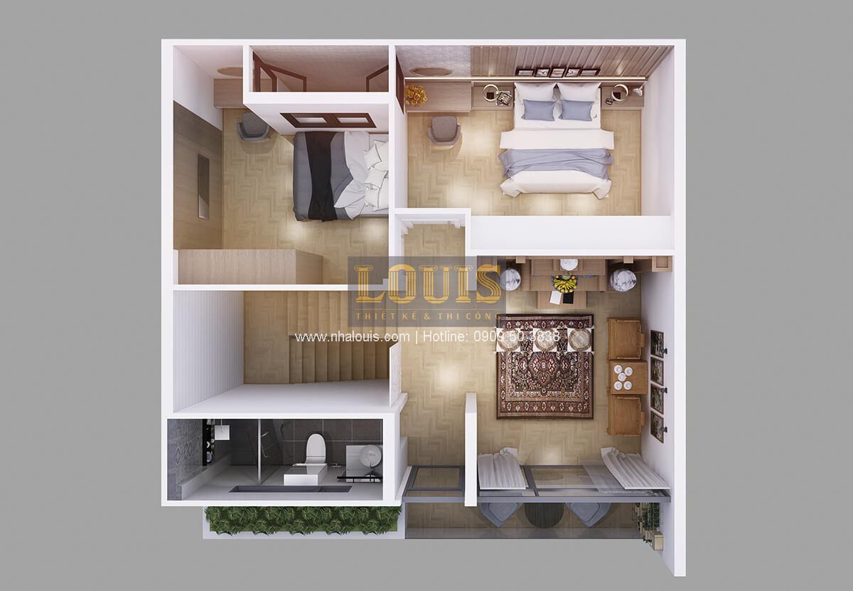 Biệt thự mini 2 tầng tiện nghi hiện đại tại Kon Tum