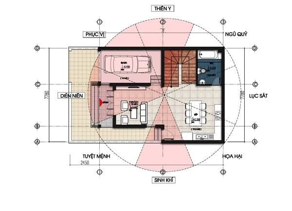 Thiết kế biệt thự mini chỉ 100m2 ai cũng phải ngắm nhìn
