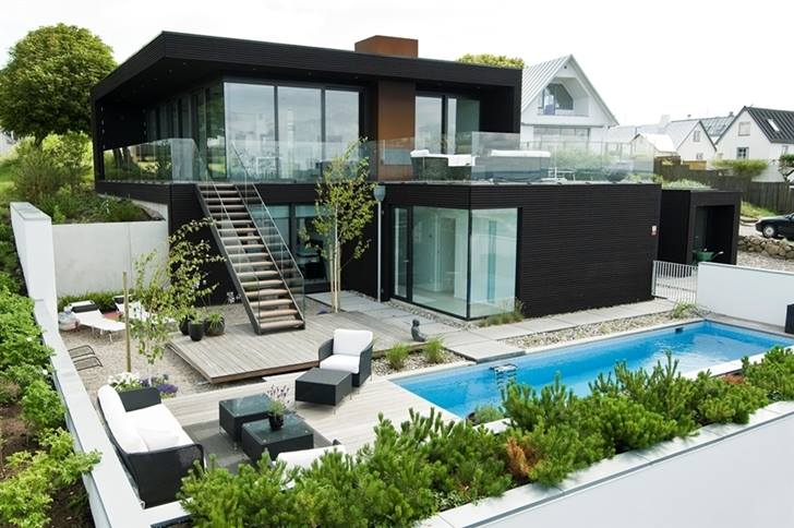 Thiết kế biệt thự nhà vườn 2 tầng trên mảnh đất 15x20m