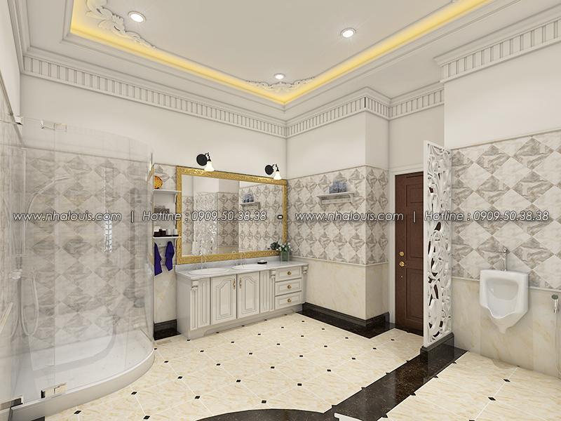 Phòng tắm Thiết kế biệt thự tân cổ điển ở Tây Ninh đậm chất quý tộc - 16