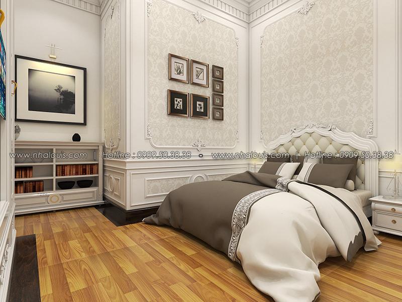 Phòng ngủ Thiết kế biệt thự tân cổ điển ở Tây Ninh đậm chất quý tộc - 19