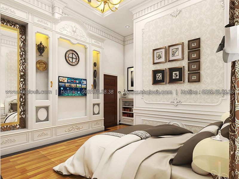 Phòng ngủ Thiết kế biệt thự tân cổ điển ở Tây Ninh đậm chất quý tộc - 20