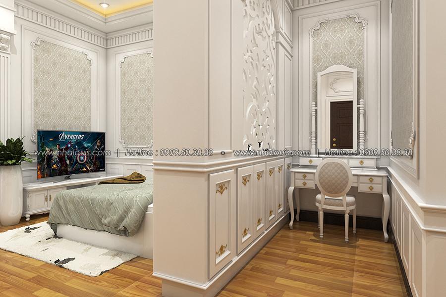 Phòng trang điểm Thiết kế biệt thự tân cổ điển ở Tây Ninh đậm chất quý tộc - 21