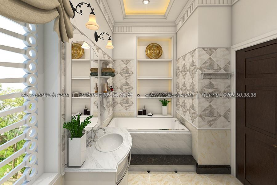 Phòng tắm Thiết kế biệt thự tân cổ điển ở Tây Ninh đậm chất quý tộc - 24