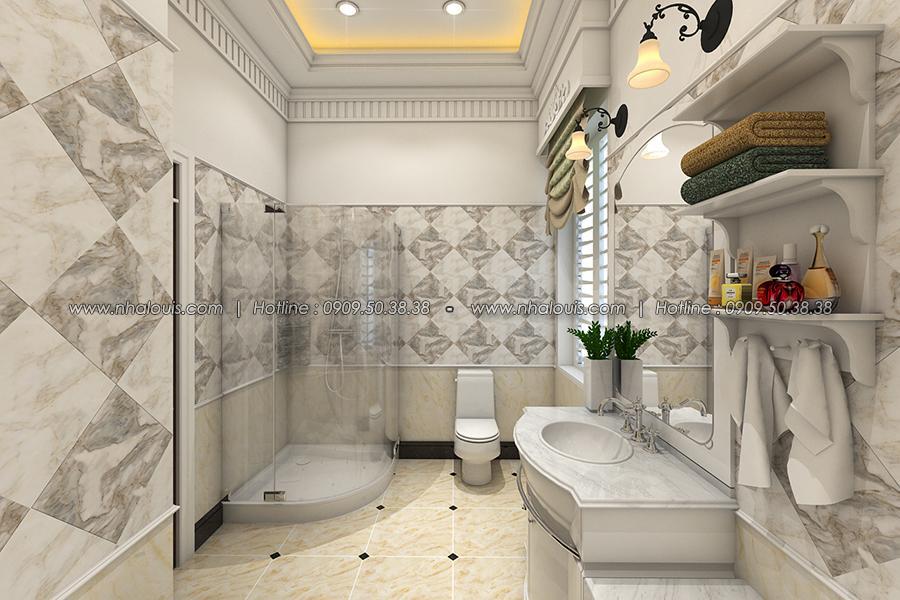 Phòng tắm Thiết kế biệt thự tân cổ điển ở Tây Ninh đậm chất quý tộc - 25
