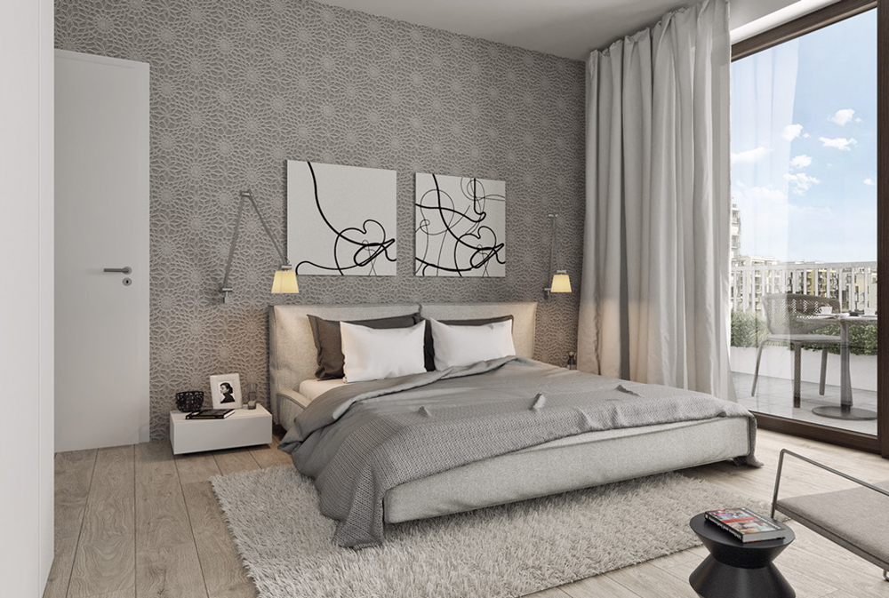 Thiết kế căn hộ 79 m2 có phòng làm việc