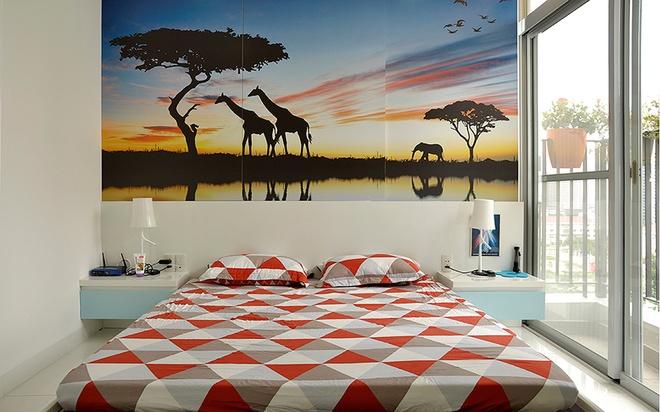 Thiết kế căn hộ chung cư 3 phòng ngủ thoáng mát và tiện ích từng xentimet