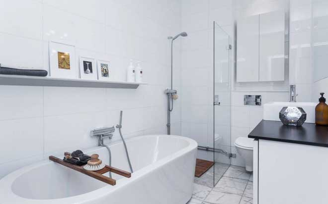 Thiết kế căn hộ chung cư nhỏ bừng sáng cả không gian