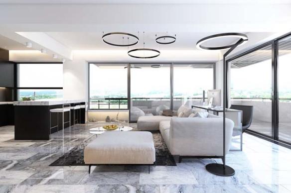 Thiết kế căn hộ penthouse hài lòng cả những người khó tính