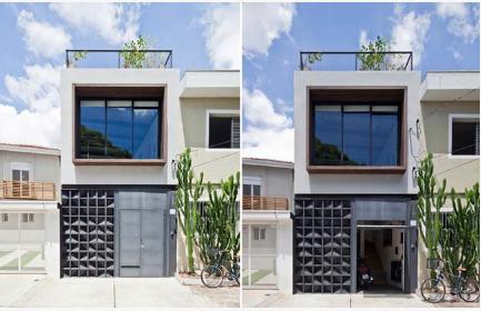 Cách thiết kế tăng diện tích sử dụng nhà phố 50m2 - 01