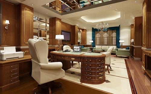Thiết kế nội thất phòng giám đốc đẳng cấp xứng tầm - 01