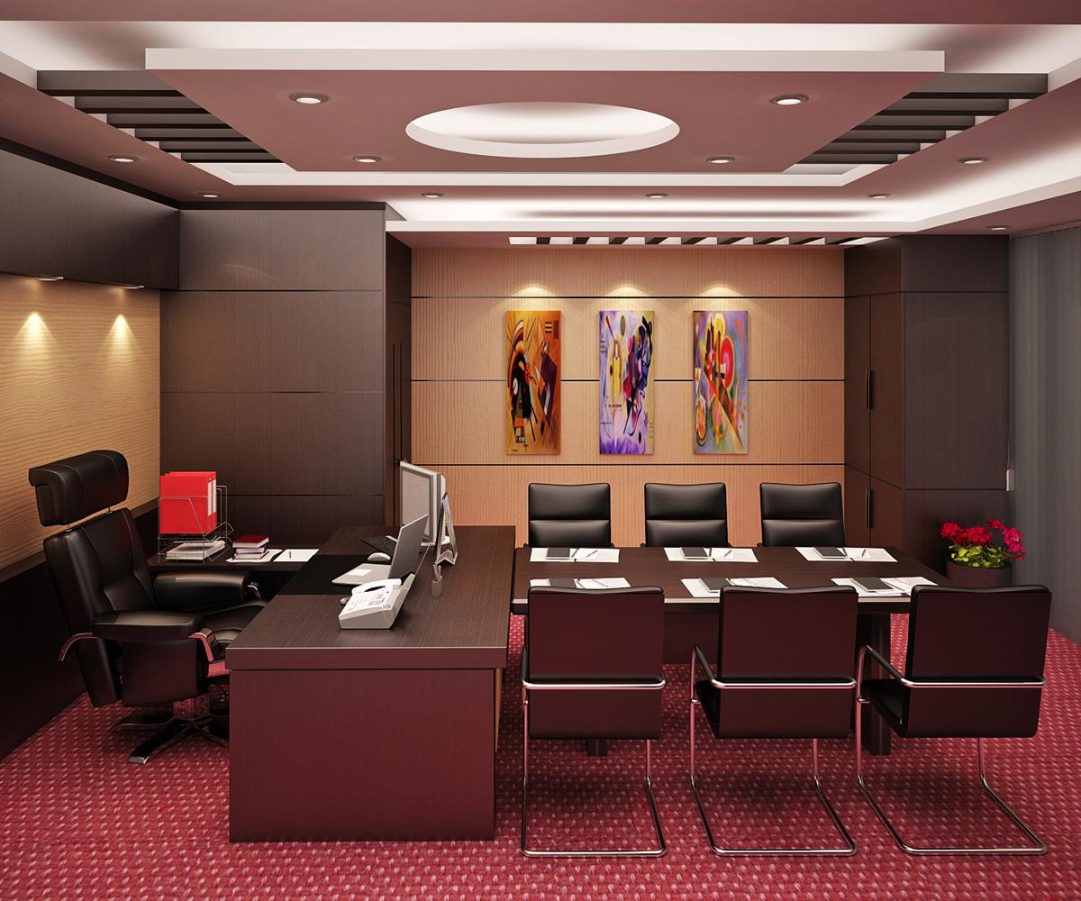 Thiết kế nội thất phòng giám đốc đẳng cấp xứng tầm - 04