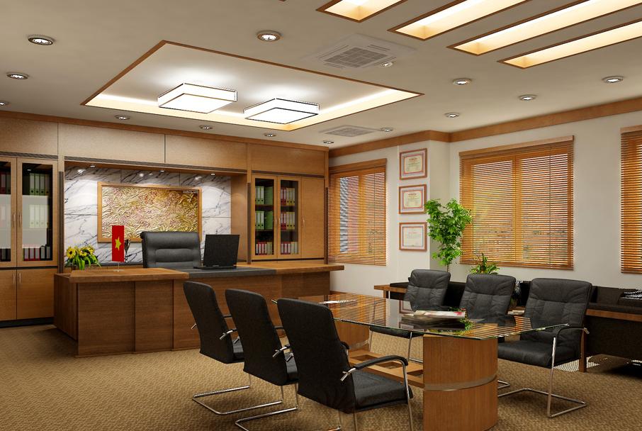 Thiết kế nội thất phòng giám đốc đẳng cấp xứng tầm - 05