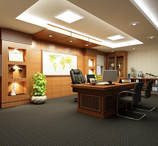 Thiết kế nội thất phòng giám đốc đẳng cấp xứng tầm - 06