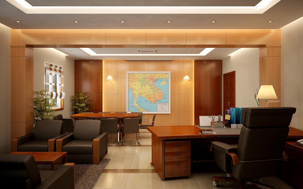 Thiết kế nội thất phòng giám đốc đẳng cấp xứng tầm - 07