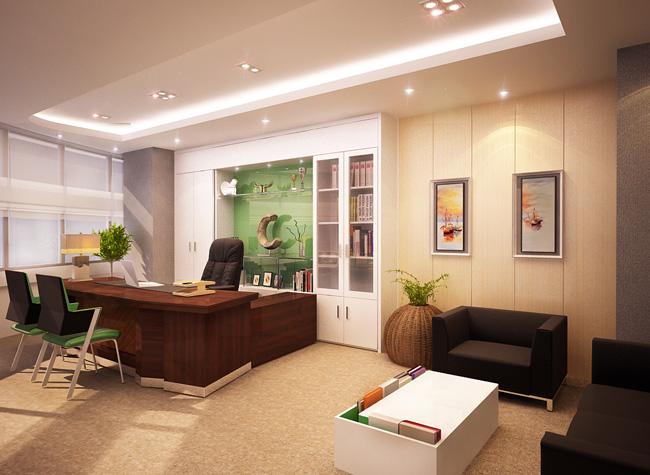 Thiết kế nội thất phòng giám đốc đẳng cấp xứng tầm - 12