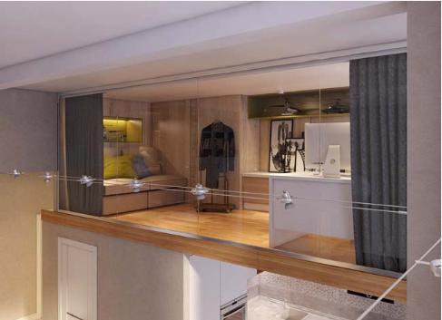 Thiết kế gác lửng cho căn hộ chung cư tăng diện tích sử dụng