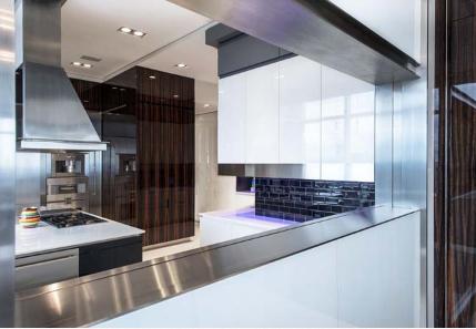 Thiết kế gộp 3 căn hộ chung cư thành 1 căn penthouse