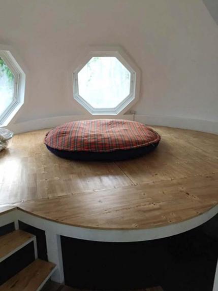 Thiết kế mẫu nhà trệt hình tròn độc đáo tại Láng – Hòa Lạc - 05