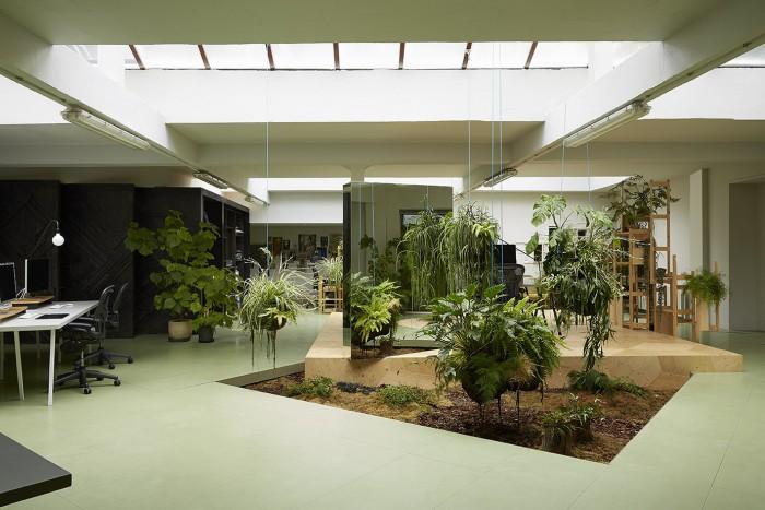 Thiết kế không gian xanh cho văn phòng làm việc thêm tươi mát - 03