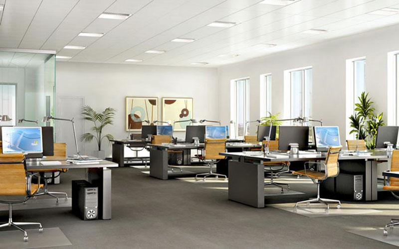 Thiết kế không gian xanh cho văn phòng làm việc thêm tươi mát - 05