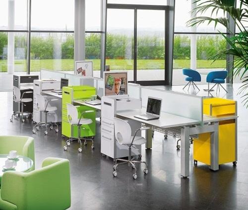 Thiết kế không gian xanh cho văn phòng làm việc thêm tươi mát