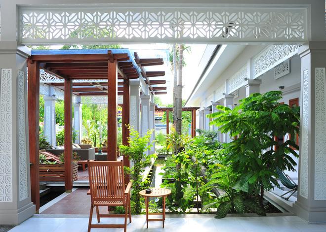 Thiết kế mẫu biệt thự nhà vườn đẹp mang phong cách miền Tây Nam Bộ