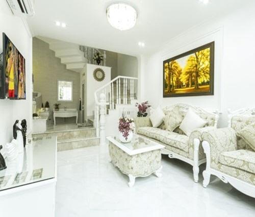 Thiết kế ngôi nhà 27m2 theo phong cách cổ điển