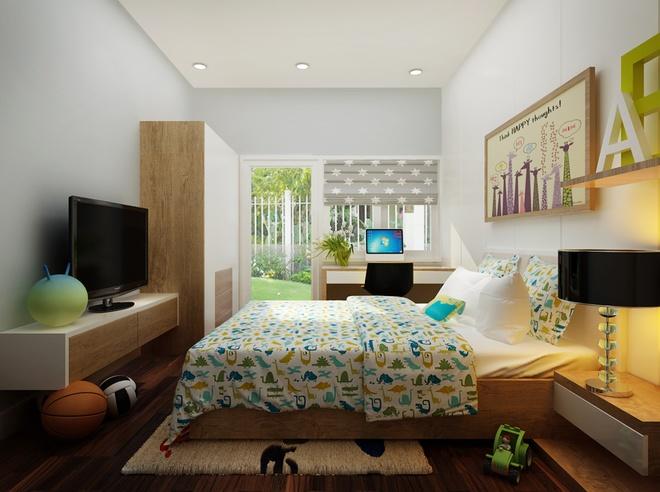 Thiết kế ngôi nhà trệt nhiều cây xanh tươi mát cho cả gia đình - 05