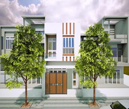 Thiết kế nhà 2 tầng 120m2 cho đại gia đình 2 thế hệ