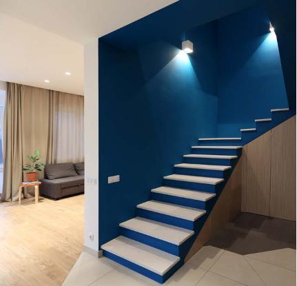 Thiết kế nhà 2 tầng tông màu tự nhiên đẹp trang nhã và sang trọng - 06