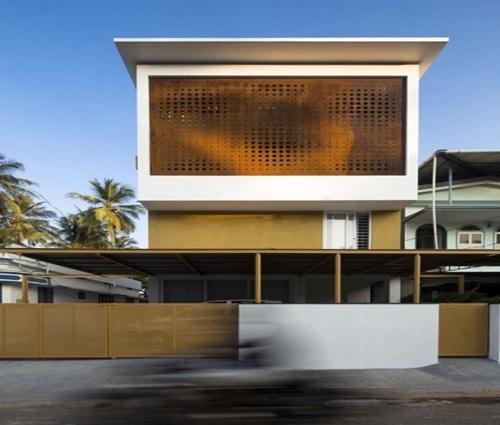 Thiết kế nhà đẹp 3 tầng có vườn ở trung tâm TPHCM