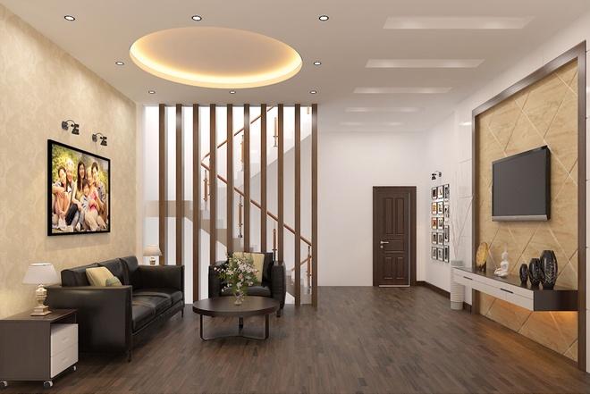 Thiết kế nhà ống 3 tầng có nhiều không gian riêng tư - 03