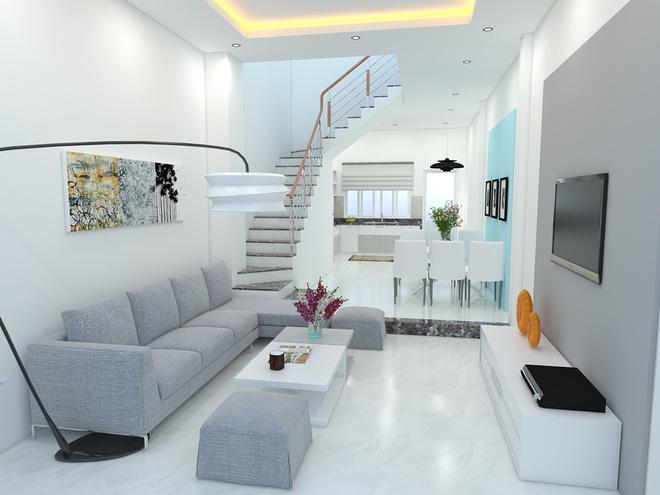 Thiết kế nhà phố 62m2 cao 3 tầng đẹp hiện đại và tinh tế - 04
