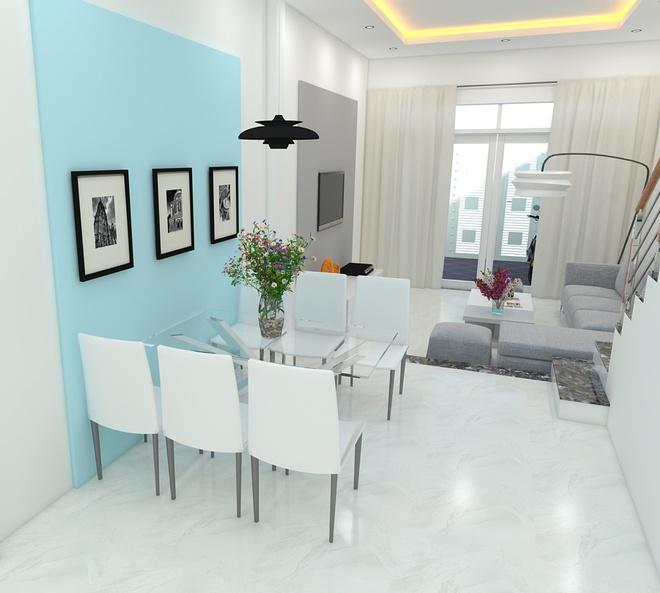 Thiết kế nhà phố 62m2 cao 3 tầng đẹp hiện đại và tinh tế - 05